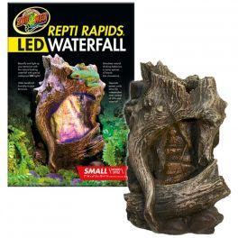 Repti Rapids Waterfall LED. Wood Style. Varias Medidas.
