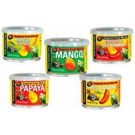 Fruta tropical para reptiles, Zoomed, varios sabores.