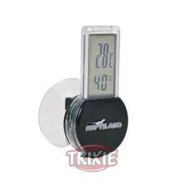 Termómetro-higrómetro digital, con ventosa.
