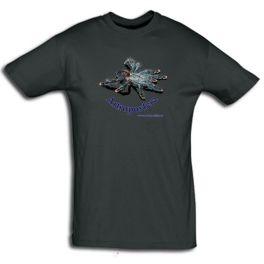 Camiseta Avicularia avicularia Artroposfera, Varias medidas.