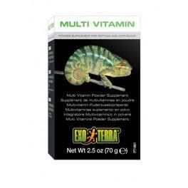 Suplemento multivitaminico en polvo para reptiles y anfibios, Varios tamaños.