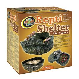 Repti Shelter™ 3 in 1 Cave, Zoomed.