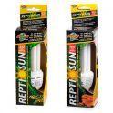 Reptisun fluorescente compacto 5.0 y 10.0. Varios modelos.
