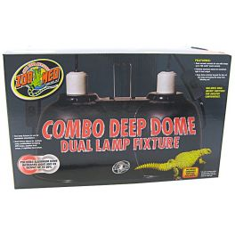 Portalámparas Combo Deep Dome Dual Lamp.