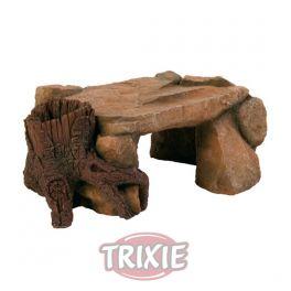 Roca altiplano con pié de tronco, 25 cm