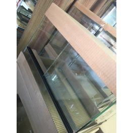 Terrarios de cristal correderas, doble ventilación (plancha perforada).