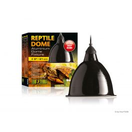 Exo Terra Reptile Dome / Lámpara Dome en aluminio. Varias medidas.