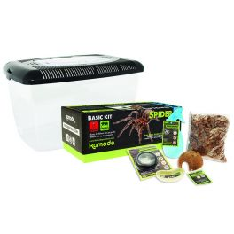 Basic Spider Kit, Kit Básico para Tarántulas y Escorpiones, Komodo.