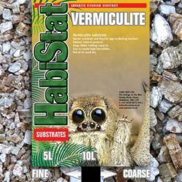 Habistat. Vermiculita sustrato. Varios grosores y tamaños.