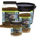 Alimento completo para tortugas de diente de león. Komodo.