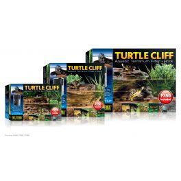 Turtle Cliff / Filtro para terrario acuático + roca, Exo Terra.