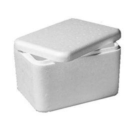 Caja porexpan 3,6 Liter - 260 x 210 x 180 mm.