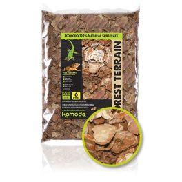 Forest Terrain Orchid Bark Chips , corteza de pino, Komodo.