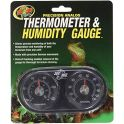 Dual Thermometer / Humidity Gauge, Zoomed.