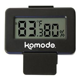 Advanced Combined Digital Thermometer & Hygrometer, Komodo.