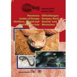 Terralog 16Venomous Snakes of Europe, Western, Central and Northern Asia/Giftschlangen Europas, West, Zentral- und Nordasiens