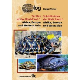 Terralog 1 Turtles of the World, Vol. 1, Europe, Africa and Western Asia