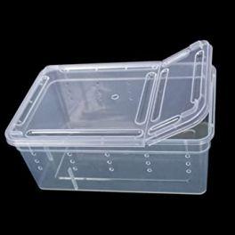Caja rectangular con ventilación, varios tamaños.